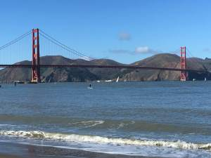 Golden Gate Bridge by the Bay by T.K. Lawrence